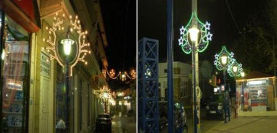 lampu hias median jalan