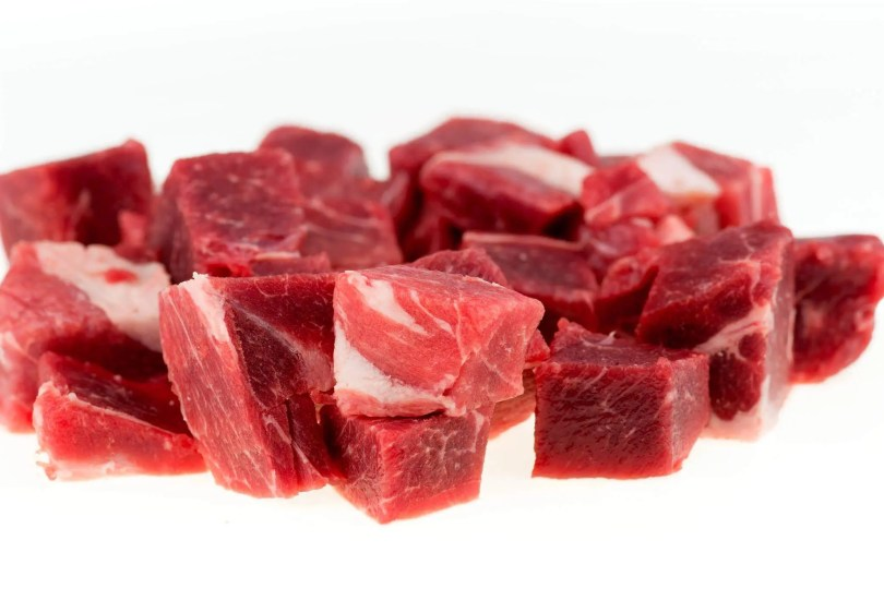 lamsvlees - lamsschouderfilet blokjes