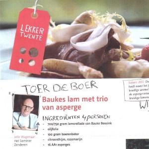 Lekker Twente - lamsvlees recept - het seminar
