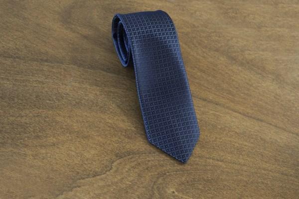 Cravatta fantasia fondo grigio scuro mod. 119