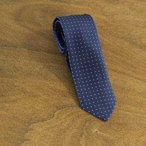 Cravatta fantasia fondo blu mod. 143