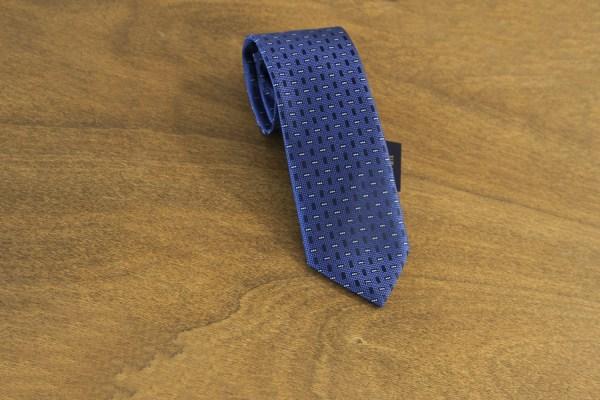 Cravatta fantasia fondo blu mod. 146
