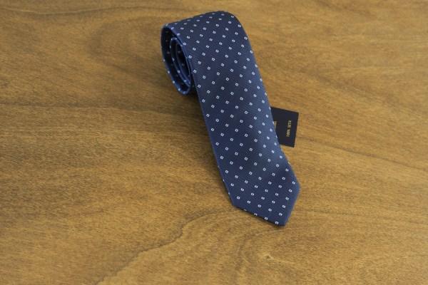 Cravatta fantasia fondo blu mod. 150