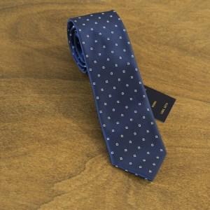 Cravatta fantasia fondo blu mod. 152