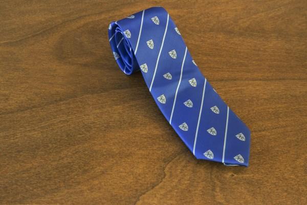 Cravatta a righe fondo azzurro mod. 212