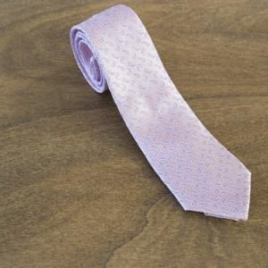 Cravatta fantasia fondo rosa mod. 255