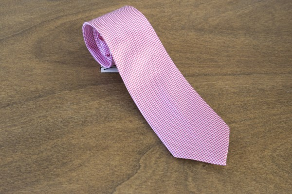 Cravatta fantasia fondo rosa mod. 263