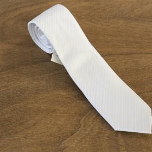 Cravatta a righe fondo bianco mod. 268
