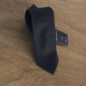 Cravatta tinta unita fondo nero mod. 089