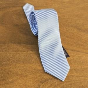 Cravatta tinta unita fondo celeste mod. 098