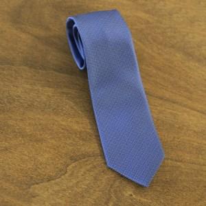 Cravatta fantasia fondo azzurro mod. 121