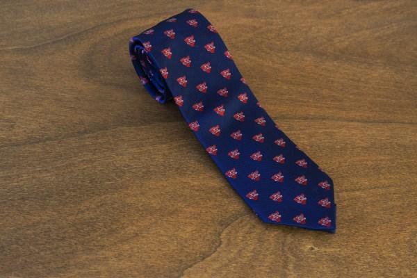 Cravatta fantasia fondo blu mod. 225