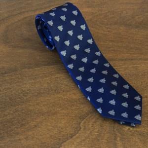 Cravatta fantasia fondo blu mod. 320