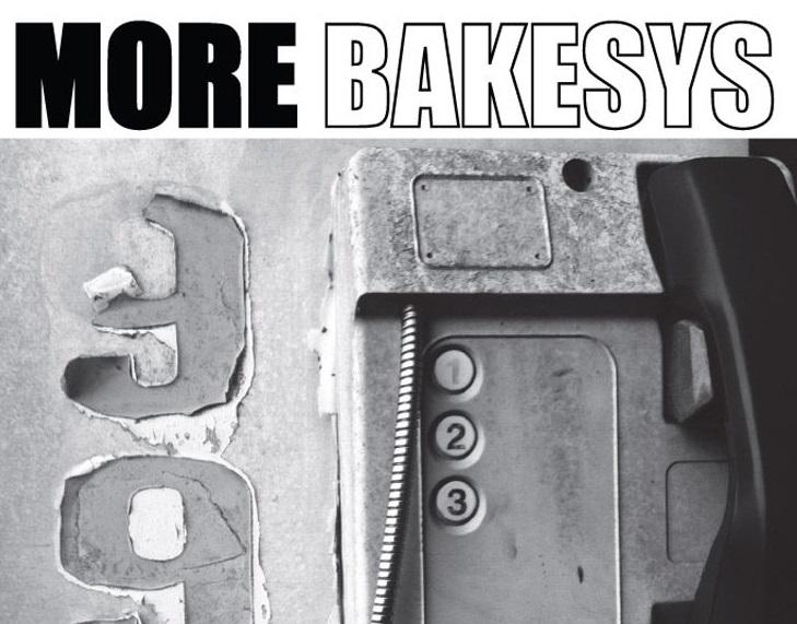"""La copertina di """"More Bakesys"""", ultimo album dei Bakesys"""