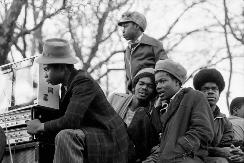 Giovani della scena reggae a Londra
