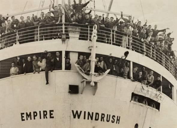 I passeggeri della Empire Windrush, nave fondamentale per la storia della Trojan Records