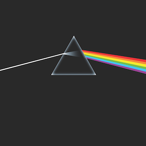 pochette Pink Floyd the dark side of the moon