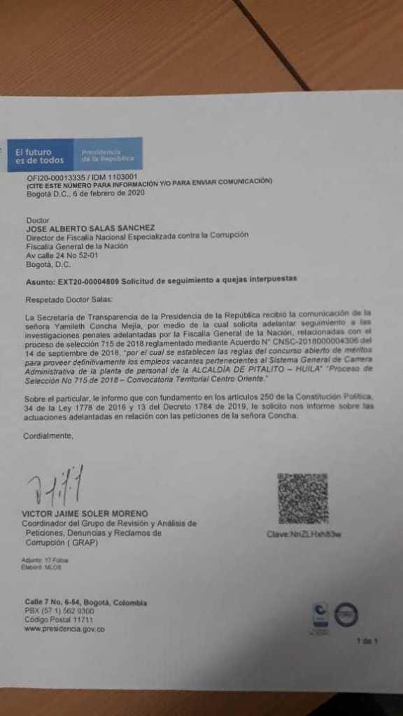 Investigan presunto fraude en concurso de servidores públicos 3 10 abril, 2020