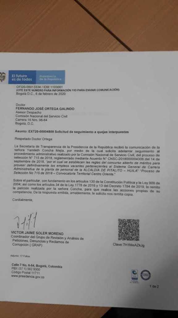 Investigan presunto fraude en concurso de servidores públicos 2 10 abril, 2020