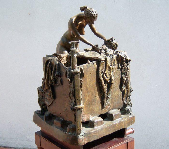Antes de morir quiero hacerle una escultura a Juan Manuel Santos: Emiro Garzón 3 10 abril, 2020