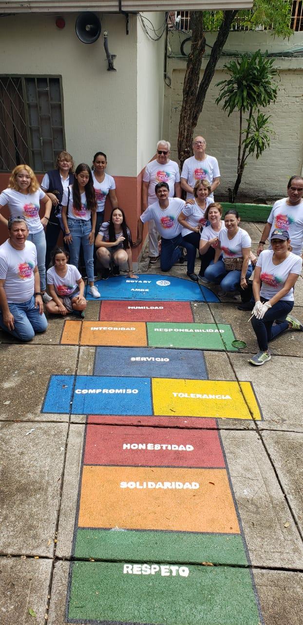 Rotarios pintaron sueños en el Juan de Cabrera 2 30 marzo, 2020