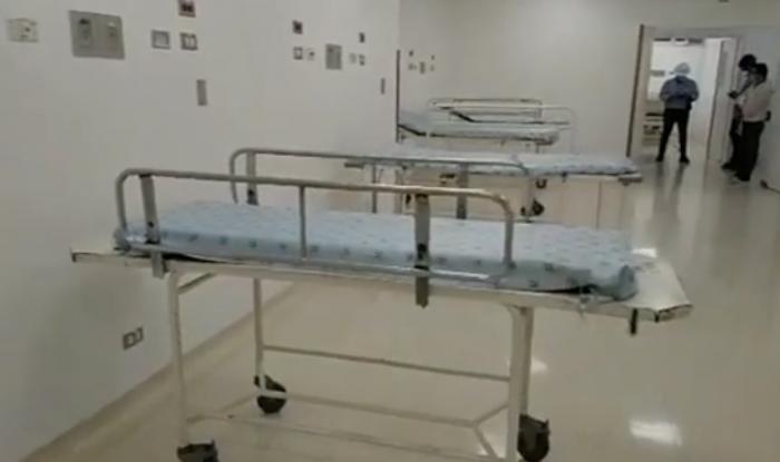 Se 'derrumbó' torre para pacientes contagiados 2 6 agosto, 2020
