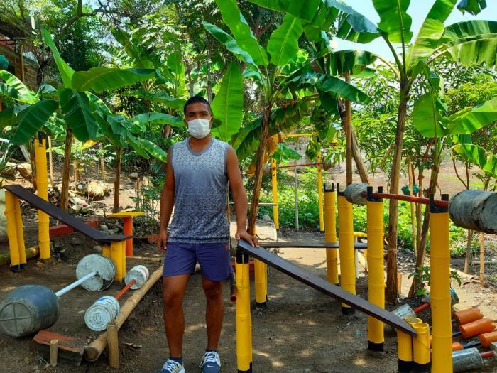 El gimnasio ecológico de Sammy en Campoalegre 2 27 mayo, 2020