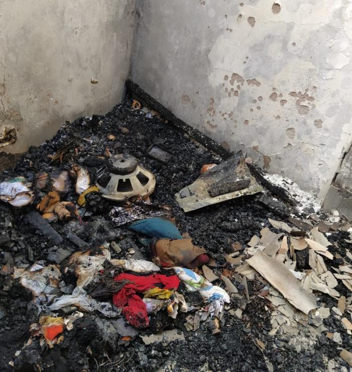 Incendio dejó sin vivienda a una familia neivana 2 27 mayo, 2020