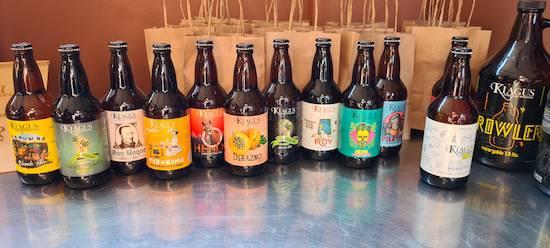 Kiagus es una de las microcervecerías que más variedades de cervezas desarrolla y que se disfruta en toda Encarnación.FOTO:GENTILEZA