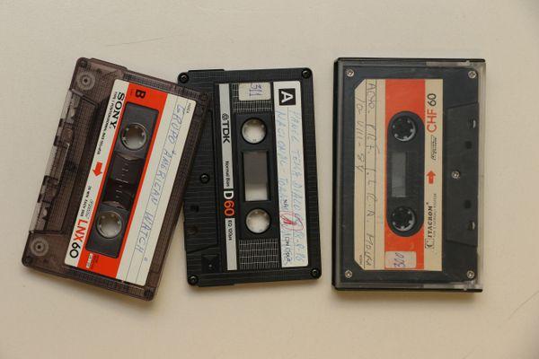 Grabaciones en casetes de todo tipo de reuniones.