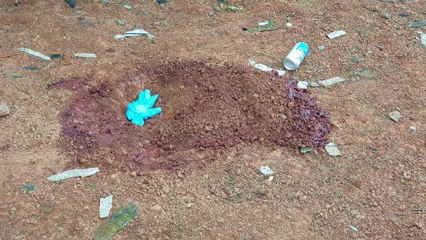 """Los cuerpos encontrados en la estancia """"Cerro Mojón"""" de Yby Yaú eran de trabajadores del lugar. Foto: Gentileza 970 AM."""