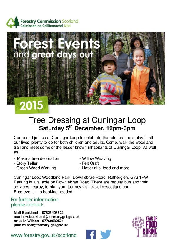 Tree Dressing Poster – Cunningar Loop