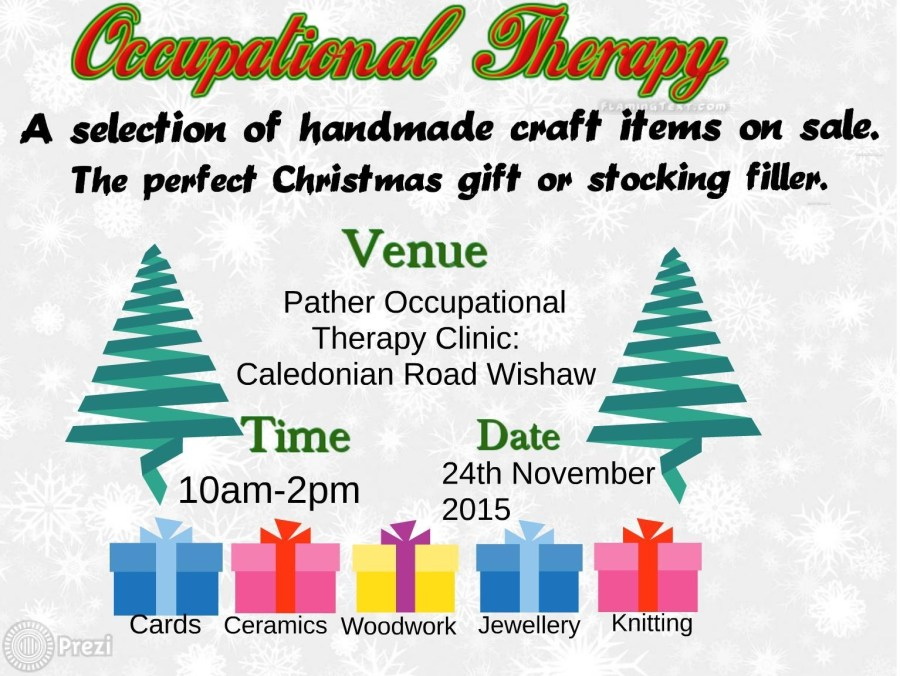 Occupational Therapy - Christmas Arts & Crafts