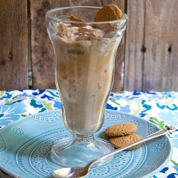 Ginger Praline Coffee Float