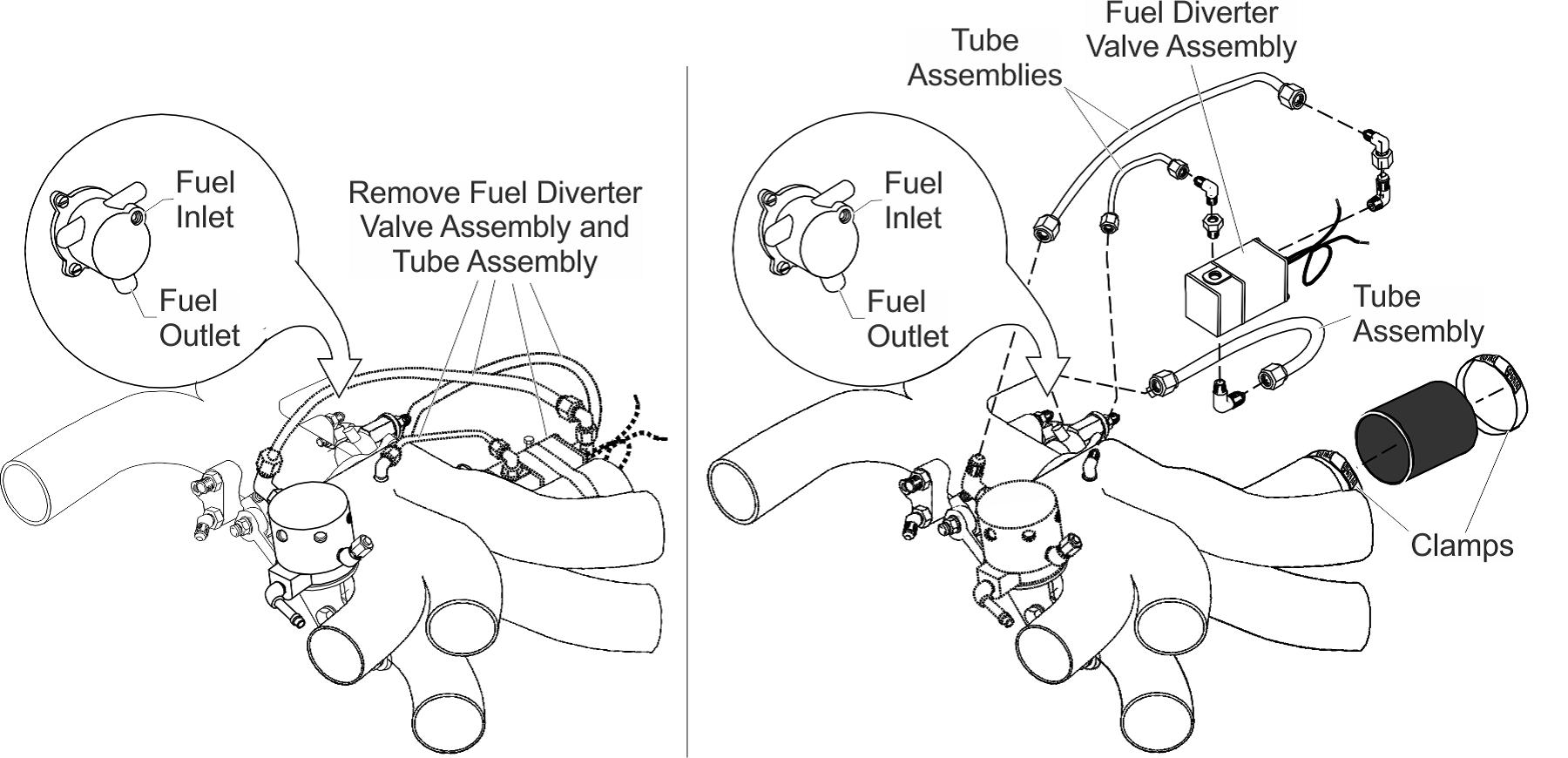 Continental Engine Primer Valve Removal
