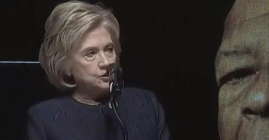 Hillary Clinton lays monumental burn on Donald Trump at funeral for Elijah Cummings
