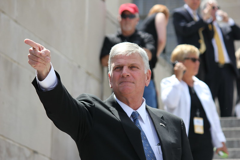 Franklin Graham calls the impeachment of Trump an 'unjust inquisition'