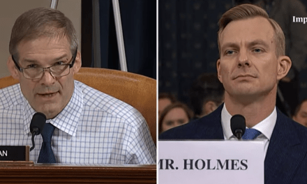 Attack dog Jim Jordan repeatedly shouts down impeachment witness to try to block truth
