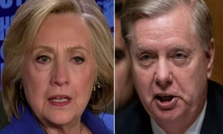 Hillary Clinton expertly skewers Lindsey Graham with a comment that's sure to enrage him