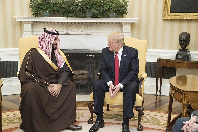 Trump sucks up to Saudis over Pensacola shooting