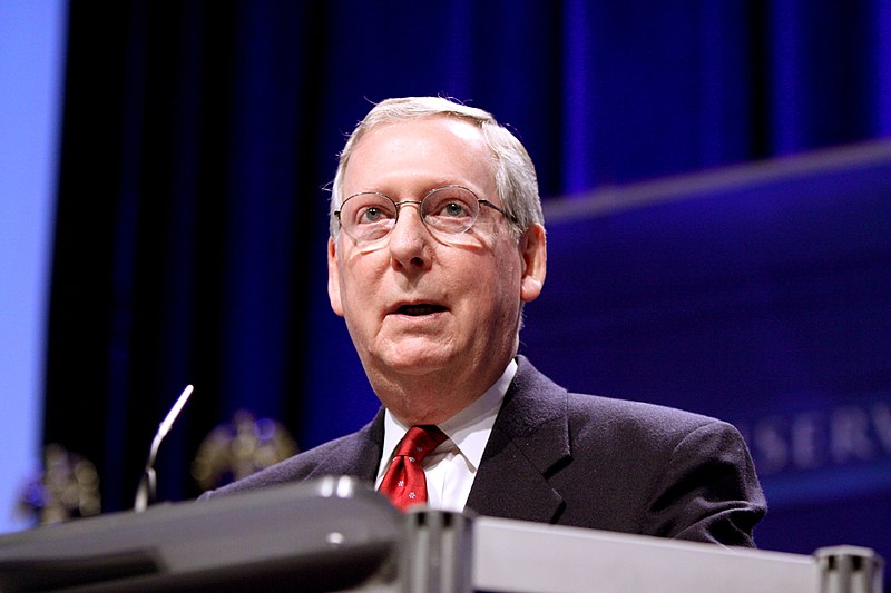Mitch McConnell falsely claims Democrats want $2,000 checks for their 'rich friends'