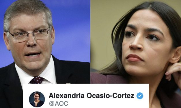 AOC burns Republican congressman to the ground for daring to compare Trump to Jesus