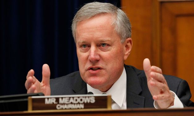 GOP's Mark Meadows says impeachment is unnecessary because Joe Biden isn't Trump's campaign rival