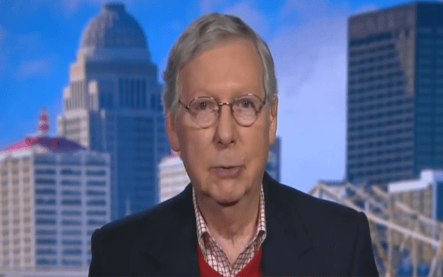 Mitch McConnell whines to Fox News that Pelosi's impeachment delay is 'absurd'