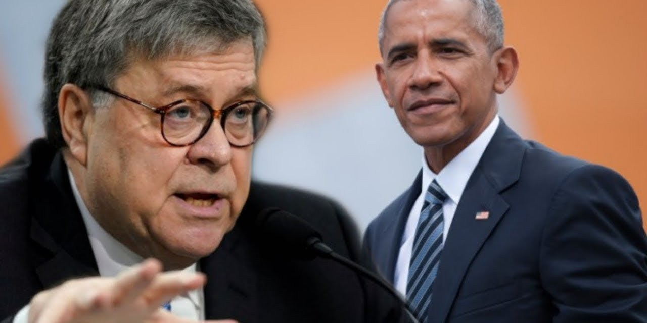 AG William Barr claims Barack Obama – not Russia – was the biggest threat to the 2016 election