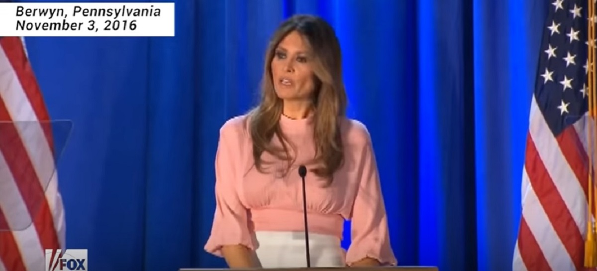 Internet blasts Melania for approving of her husband's bullying of Greta Thunberg