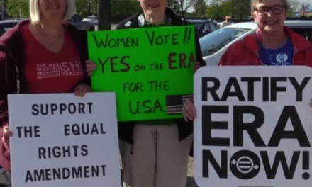 Women across the country celebrate as Virginia becomes 38th state to ratify ERA