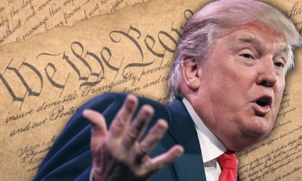 Donald Trump once complained that the Constitution 'reads like a foreign language'
