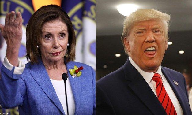Twitter wrecks Trump for attacking Pelosi for opposing GOP slush fund bill