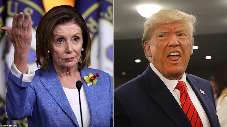 Trump says if hair salon 'set up' Pelosi she's incapable of negotiating with dictators